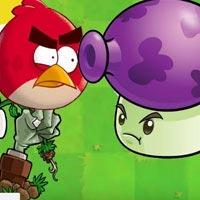 Angry Birds vs Plants