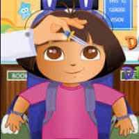 Dora And Diego At The Eye Clinic