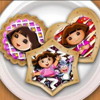Dora Cookies Decoration