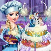 Elsa Frozen Wedding Cake