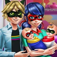 Ladybug Twins Family Day