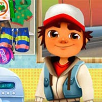 Subway Surfers Washing Clothes
