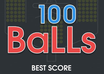 Play 100 Balls online - Screenshot 1