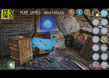 Play Abandoned Forest House online - Screenshot 2