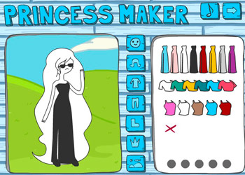 Play Adventure Time Princess Maker online - Screenshot 1
