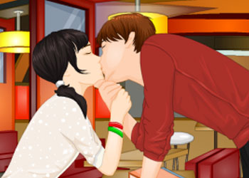 Play After School Kiss online - Screenshot 1