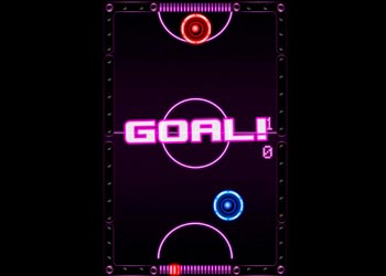 Play Air Hockey Game online - Screenshot 1
