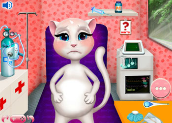 Play Angela Baby Emergency online - Screenshot 2