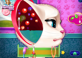Play Angela Ear Doctor online - Screenshot 1