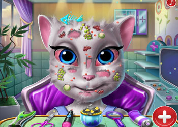 Play Angela Skin Doctor online - Screenshot 1