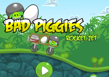 Play Angry birds - rocket jet online - Screenshot 1