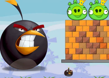 Play Angry Birds Bomb 2 online - Screenshot 1
