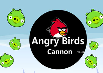 Play Angry Birds Cannon online - Screenshot 1