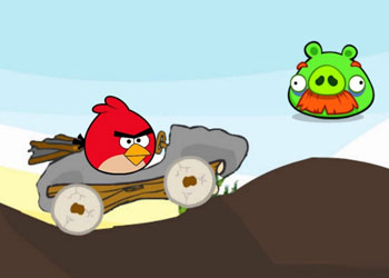 Play Angry Birds Car Revenge online - Screenshot 2