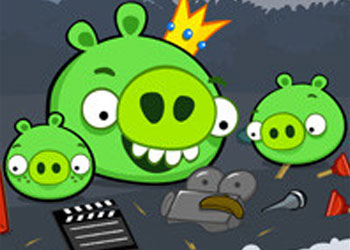 Play Angry Birds Destroy Bad Piggies online - Screenshot 1
