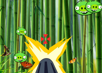 Play Angry Birds Destroy Bad Piggies online - Screenshot 2