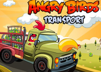 Play Angry Birds Eggs Transport online - Screenshot 1