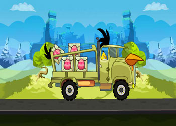 Play Angry Birds Eggs Transport online - Screenshot 2