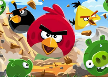 Play Angry Birds Jigsaw online - Screenshot 1