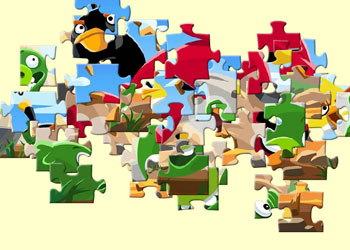 Play Angry Birds Jigsaw online - Screenshot 2
