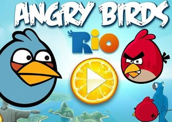 Play Angry Birds Rio online - Screenshot 1