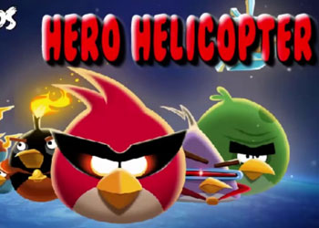 Play Angry Birds Space Hero Helicopter online - Screenshot 1