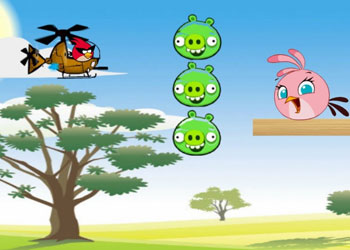 Play Angry Birds Space Hero Helicopter online - Screenshot 2