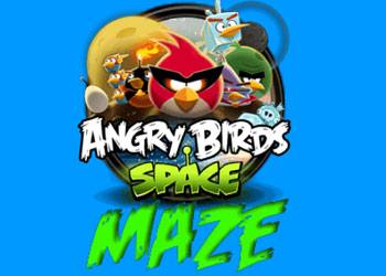 Play Angry Birds Space Maze online - Screenshot 1