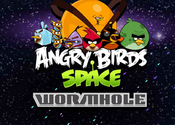 Play Angry Birds Space Wormhole online - Screenshot 1