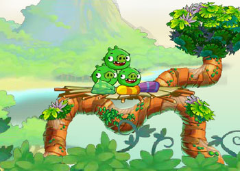 Play Angry birds: Stella online - Screenshot 2