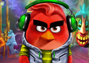 Play Angry Birds Summer Break online - Screenshot 1