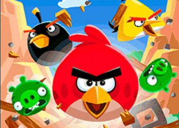 Play Angry Birds World online - Screenshot 1