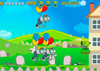 Play Angry Zombies online - Screenshot 1