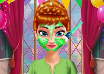 Play Anna and Elsa Makeover online - Screenshot 2