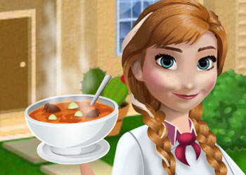 Play Annas Kitchen Zucchini Soup online - Screenshot 1