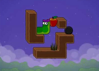 Play Apple Worm online - Screenshot 2