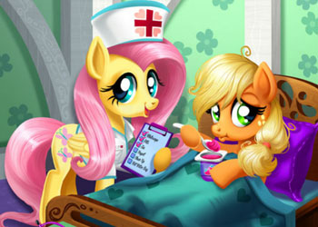 Play Applejack Stomach Care online - Screenshot 1
