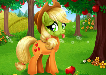 Play Applejack Stomach Care online - Screenshot 2