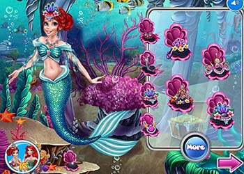 Play Ariel Princess VS Mermaid online - Screenshot 1