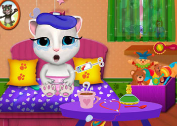 Play Baby Angela Flu Care online - Screenshot 1
