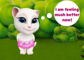 Play Baby Angela Flu Care online - Screenshot 2