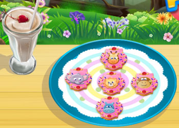 Play Baby Animal Cookies online - Screenshot 1