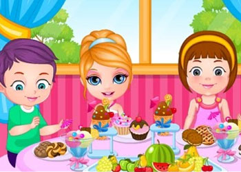 Play Baby Barbie Birthday Party online - Screenshot 2