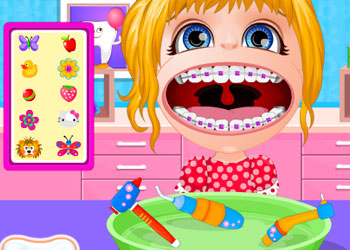 Play Baby Barbie Braces Doctor online - Screenshot 2