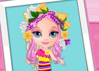 Play Baby Barbie Crazy Haircuts online - Screenshot 2