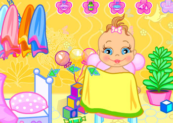 Play Baby Bathing Time To Sleep online - Screenshot 2