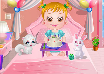 Play Baby Hazel Birthday Party online - Screenshot 1