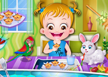 Play Baby Hazel Cooking Time online - Screenshot 1