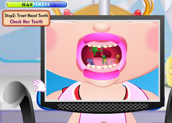 Play Baby Hazel Dental Care online - Screenshot 1