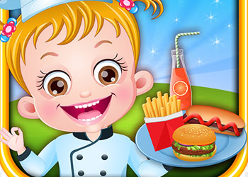Play Baby Hazel Food Truck online - Screenshot 1